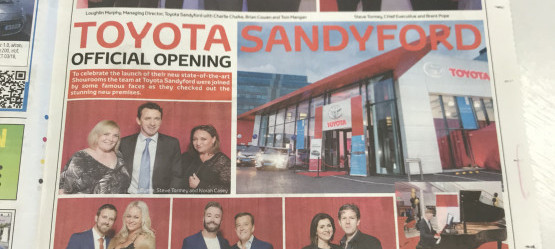 Toyota Sandyford Official Launch Night
